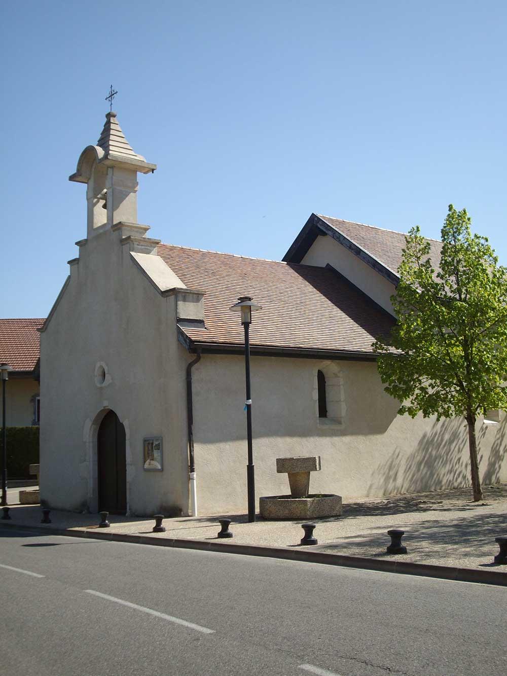 Chapelle Saint-Oyen de Marchon