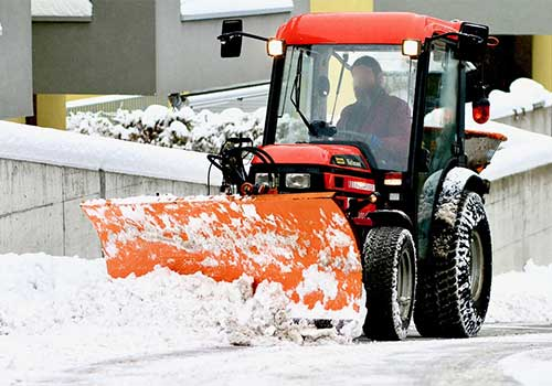Un plan neige est mis en place par la commune d'Arbent